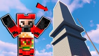 We Built the Tallest Tower in the Server! - Minecraft Multiplayer Gameplay