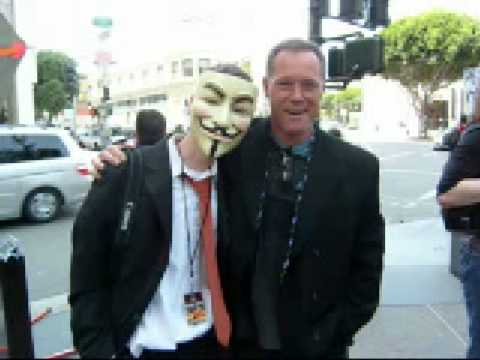 JASON BEGHE Joins Anonymous!