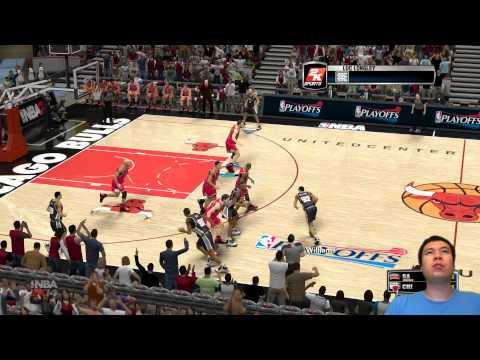 NBA 2K14 - Michael Jordan, Scottie Pippen, Dennis Rodman, Ron Harper!