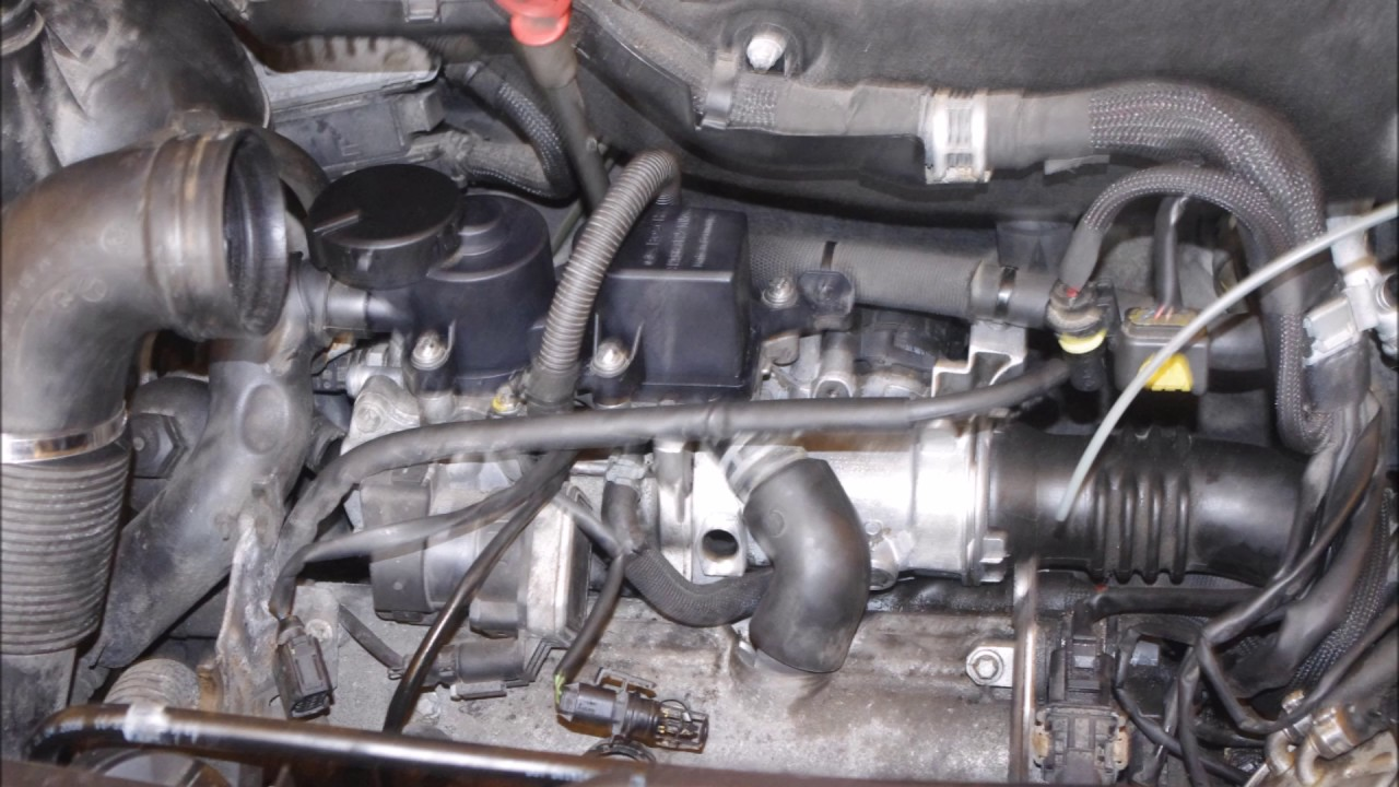 How to change the thermostat on a Mercedes A W169 DIY