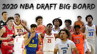 2020 NBA Draft Big Board 1.0 | Biggest Sleepers?
