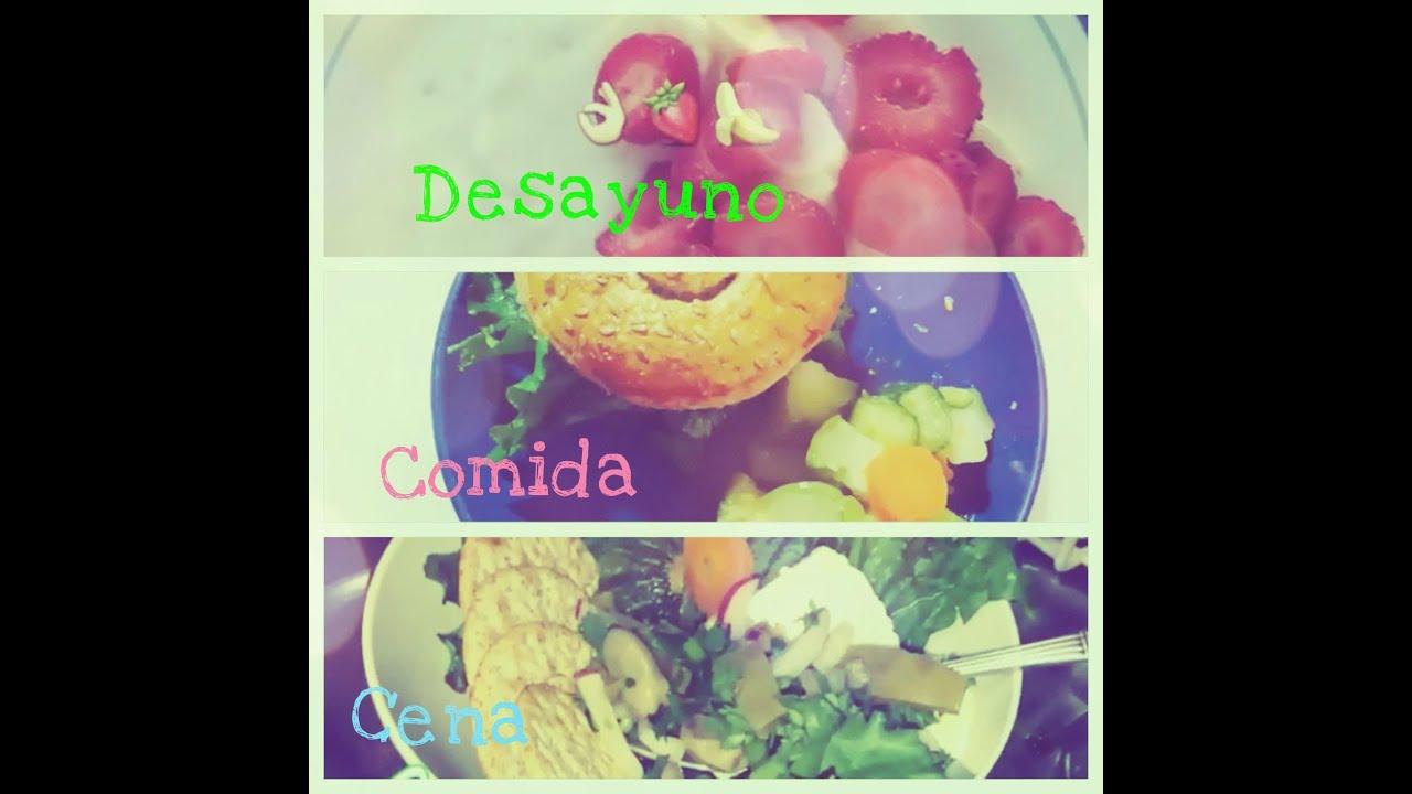 alimentos saludables para el desayuno almuerzo y cena