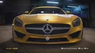 Need For Speed 2015 - Mercedes-AMG GT 2015 - Tuning & Free Roam Gameplay (XboxONE HD) [1080p]