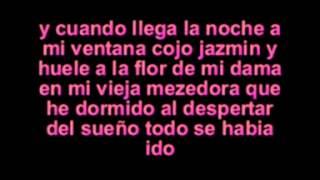Letra De Estrella Blanca-fondo Flamenco