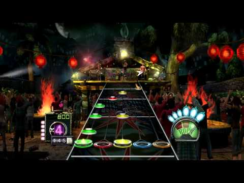 Dragonforce - Fury of the Storm (Guitar Hero)