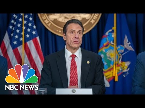 NY Gov. Andrew Cuomo Holds Coronavirus Briefing | NBC News (Live Stream Recording)