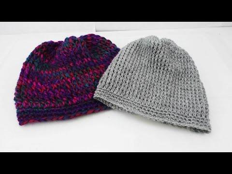 Long Beanie Mütze Häkeln – Beanie häkeln für Anfänger Anleitung