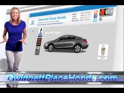 Honda dealer serving atlanta gwinnett place honda youtube for Honda dealership atlanta ga