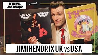 Jimi Hendrix - Are You Experienced? UK vs USA vinyl review