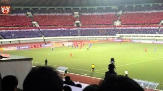 Football match at Kim Il Sung Stadium in Pyongyang, North Korea - Travel Shorts 2