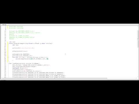 C++, SDL and OpenGL Tutorial 6 - Rendering Text