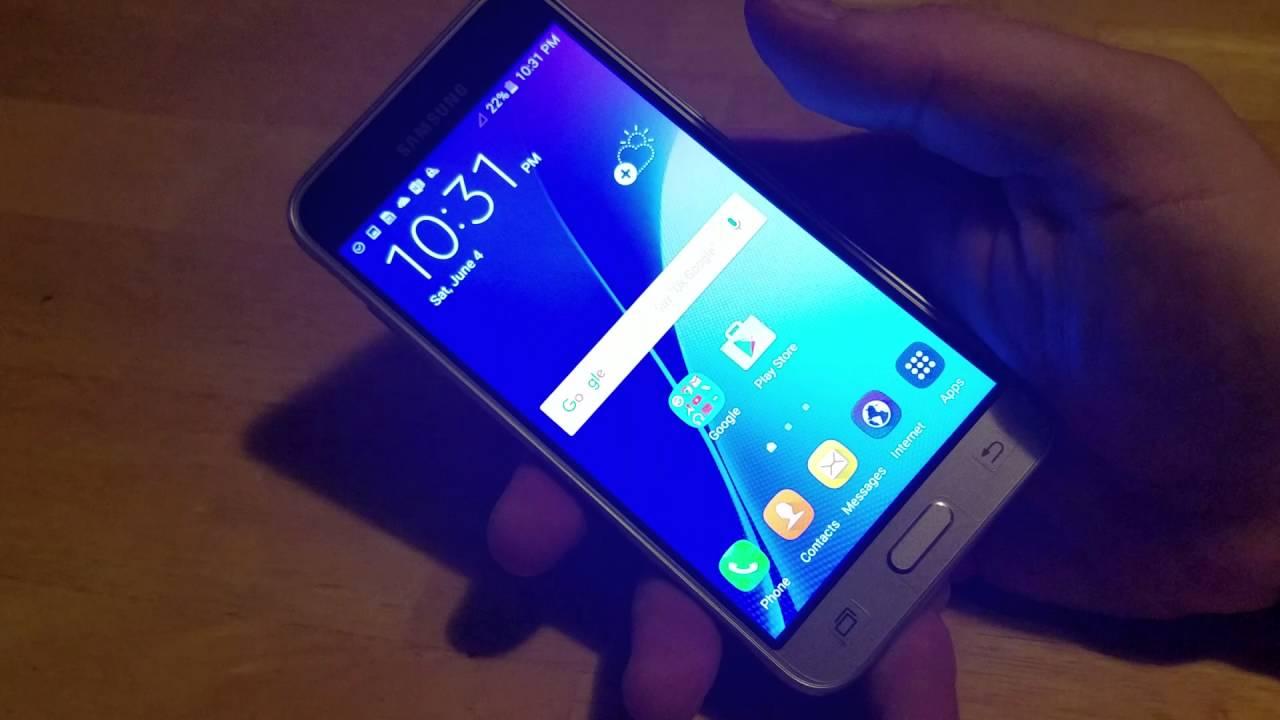Samsung Galaxy F3 Screen Shot