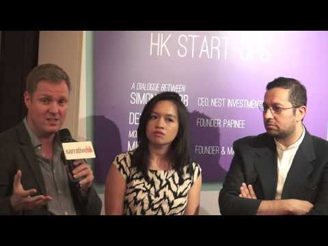 "NarrativeHK 2014 Dialogue Series: #3 ""What's Next, HK?"": HK Start-ups"