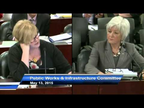 Pt 1 Jane Pepino - Excerpt from Public Works Committee  May 13