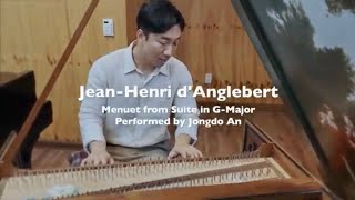 """Menuet"" Jean-Henri d'Anglebert - playing on Harpsichord/""미뉴엣"" 당글르베르 - 하프시코드 연주"