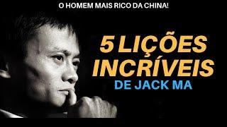 5 Lições Incríveis do Homem mais Rico da China, Jack Ma! [Legendado Português]