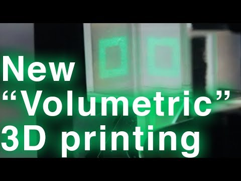 Laser holograms create 3D-printed objects in seconds, no layering required
