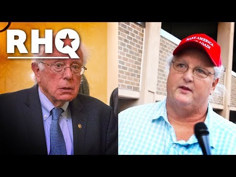 Trump Supporters MIXED On Bernie Sanders