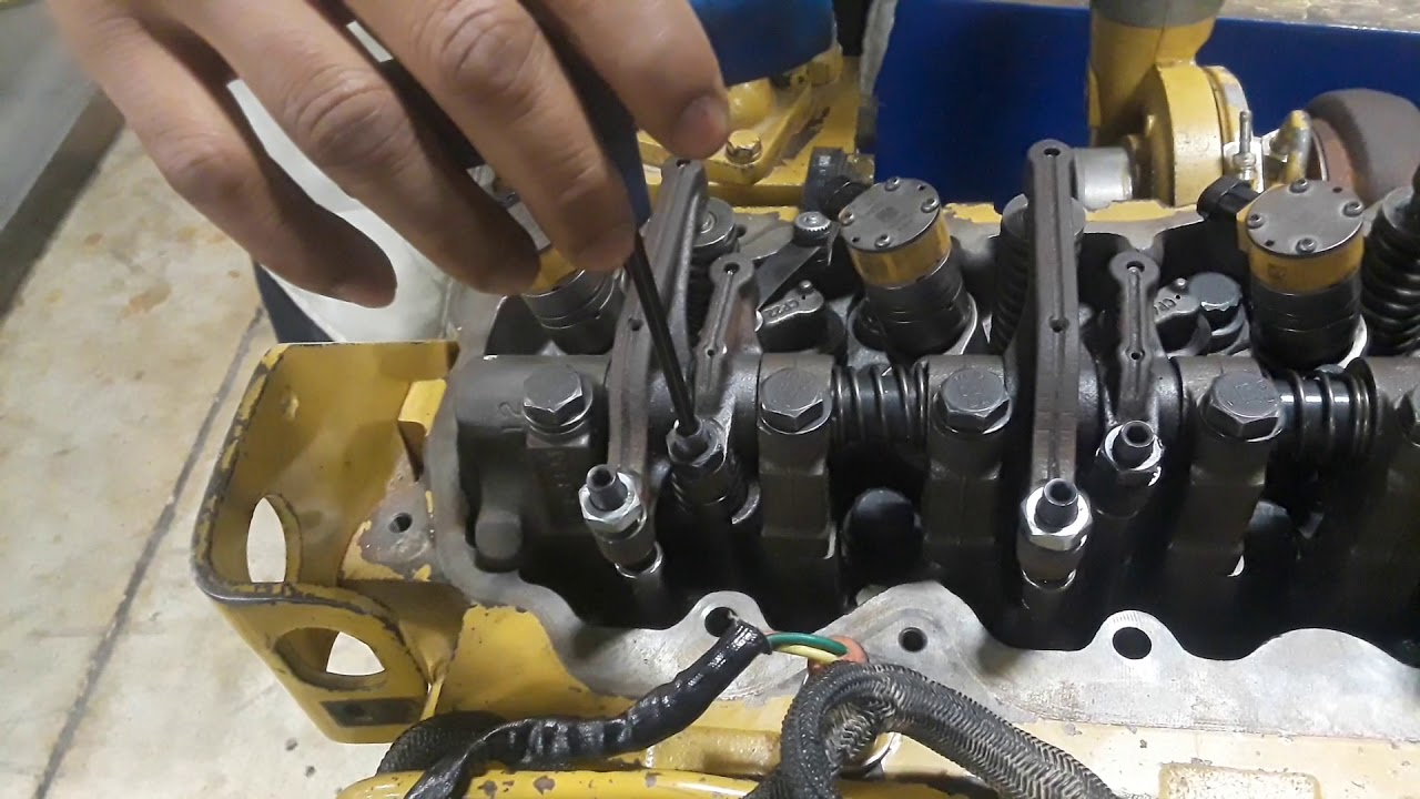 mack e7 400 valve adjustment