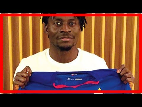 Breaking News | Nigerian Obafemi Martins credits teammates for hat-trick in China
