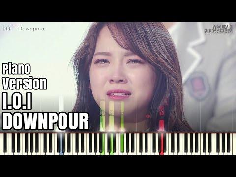[Piano Ver.] I.O.I - Downpour ● Emotional Song Ever