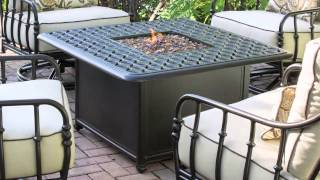 Cortez 5-piece Patio Conversational Seating with Firepit Table