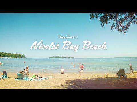 Nicolet Bay Beach - Beaches Of Door County, Wisconsin