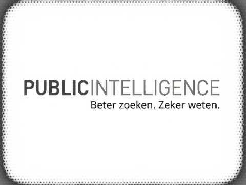 Public Intelligence instructie