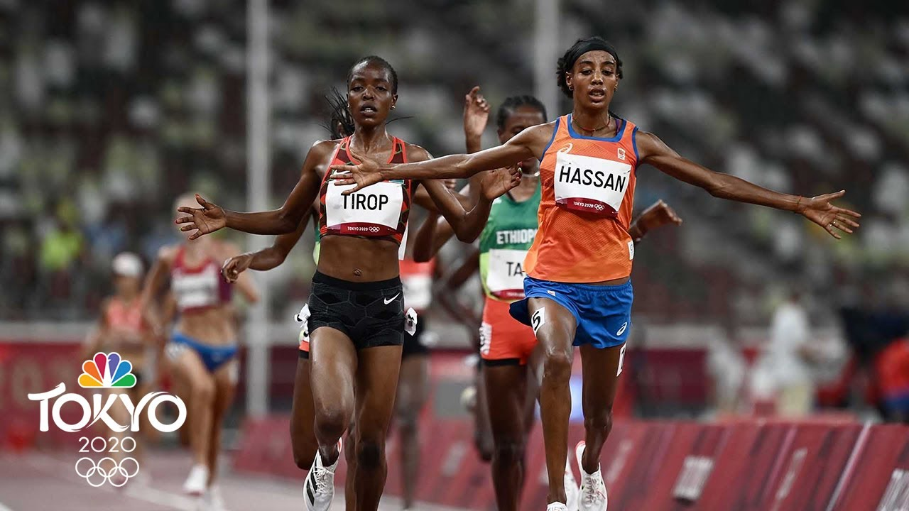 Download Sifan Hassan trips and falls but ROARS BACK to win 1500m prelim | Tokyo Olympics | NBC Sports