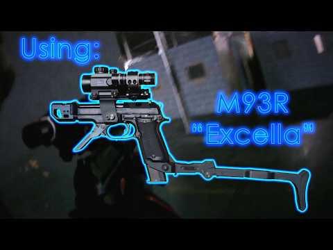 "CRAZY AIRSOFT CQB GUN IN ACTION! Custom M93R ""Excella"" at Battalion"