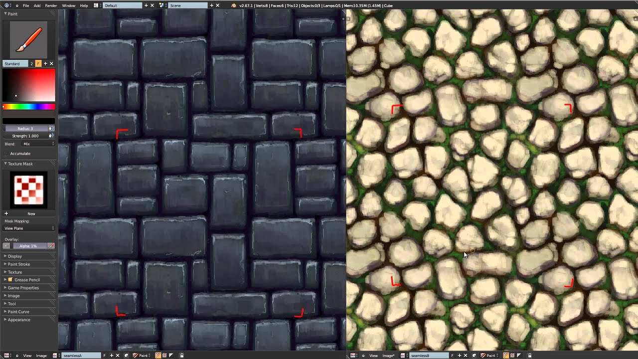 Seamless Texture Painting in Blender - YouTube