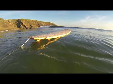 Building a Balsa wood Surfboard