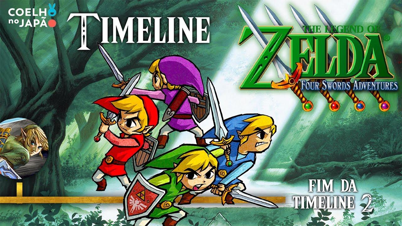 The Legend of Zelda: Four Swords Adventures ❘ A Timeline Completa 12 ❘ #CoelhoDoc