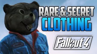 fallout 4 5 rare secret armor clothing location guide fo4 rare secret items