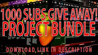 1000 Subs Project Bundle Give away | Free Projects