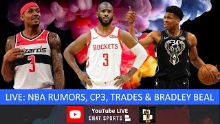 NBA Rumors, News, Chris Paul Latest, Bradley Beal Future, Giannis & Lakers, Signings And Live Q&A