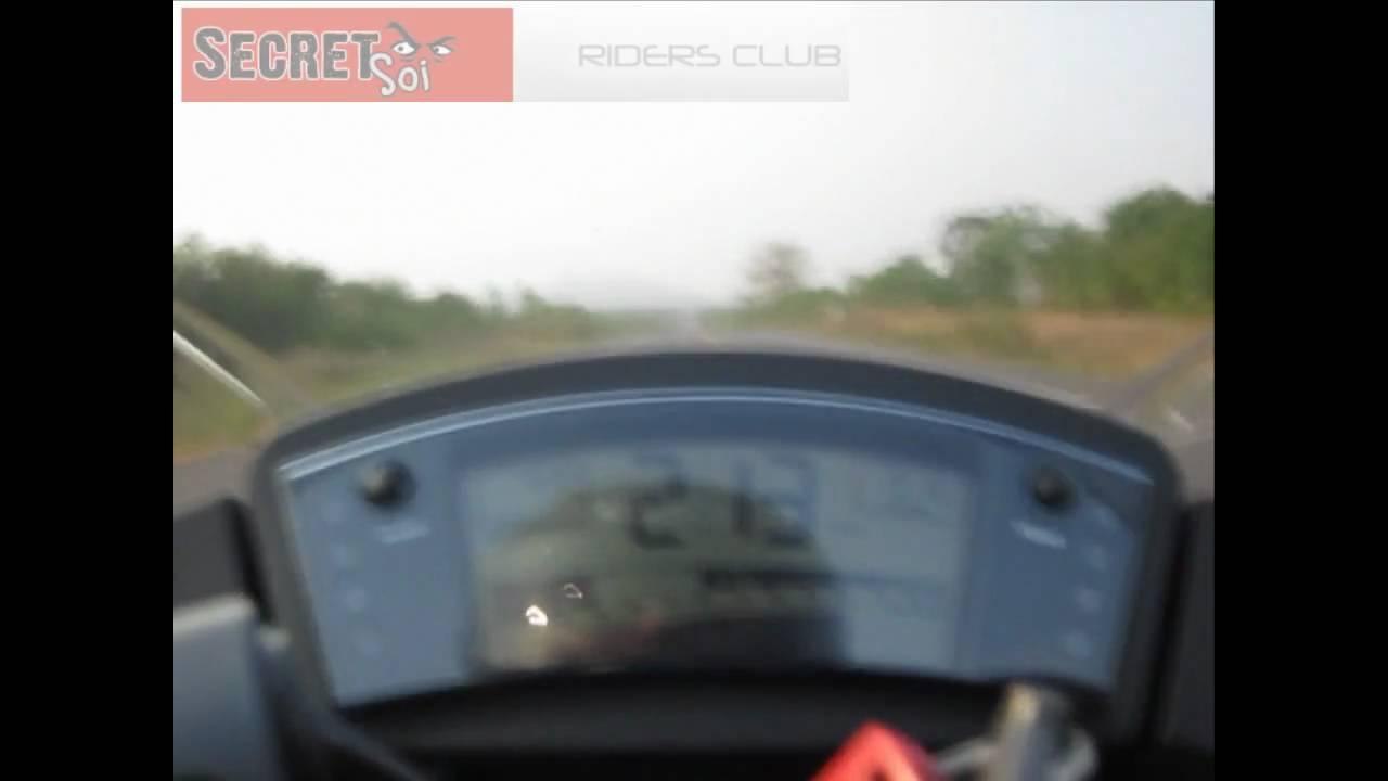 2010 Kawasaki Ninja 650R Top Speed 220 km/hr - YouTube
