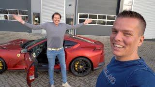 Dit Ging NIET Helemaal Goed... Ferrari 812 Superfast vs Tesla Model 3 Performance