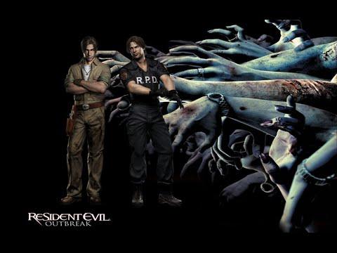 Resident Evil Outbreak Online com amigo #01 Outbreak PT-BR