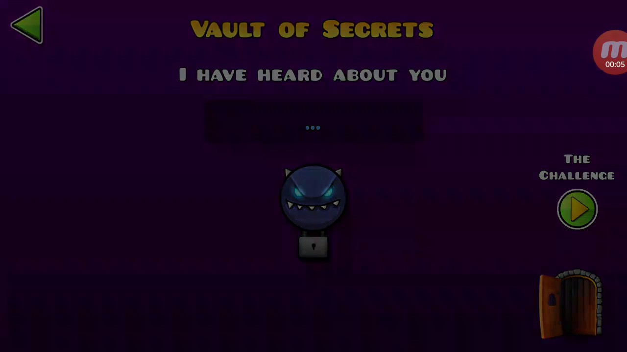 The challenge of the vault of secrets geometry dash for Vault of secrets