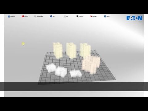 EFGVS Graphical Visualisation Software for Eaton addressable fire systems - Demo 2min 40secs