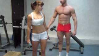 Бодибилдинг для женщин, комплекс упражнений (понедельник). Программа тренировок для девушек.
