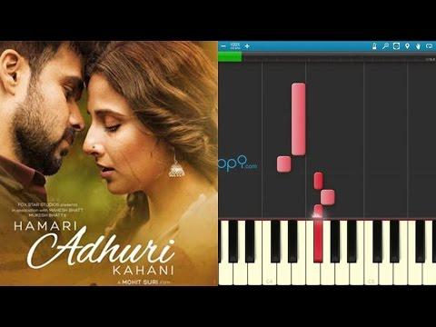How to play Humnava on Keyboard / Piano - Part 1 - Hamari Adhuri Kahani