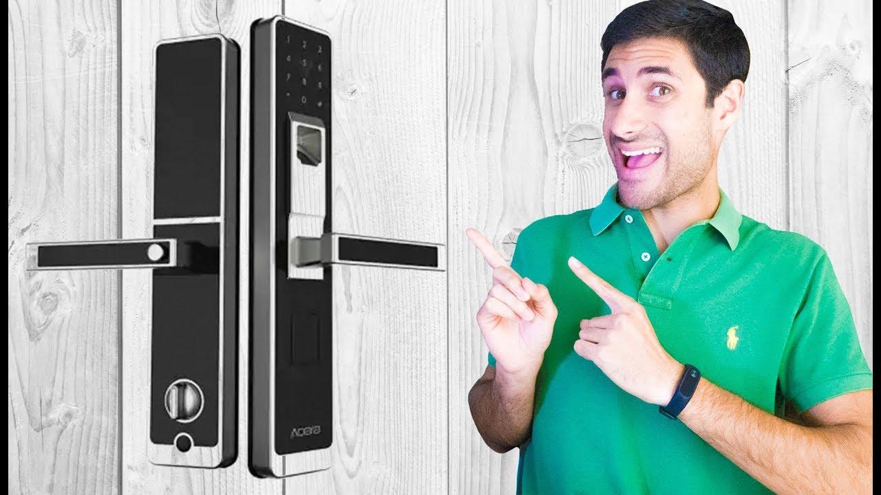 Abrir a porta com Smartphone !? Aqara WiFi Fingerprint Smart Door Lock