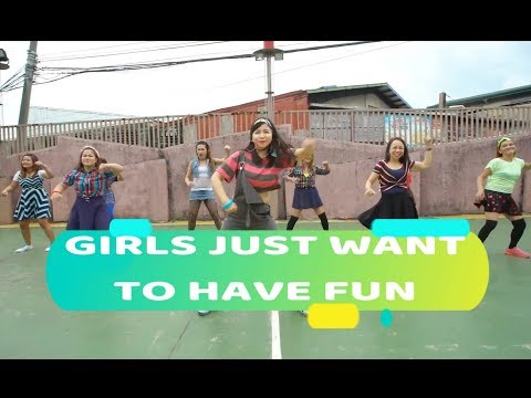 GIRLS JUST WANT TO HAVE FUN by Cyndi Lauper ( DJ TAXZ REMIX) | RETROFITNESSPH | RK Jingky Magsino