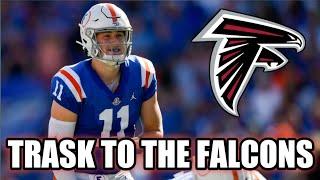 Atlanta Falcons Drafting Kyle Trask In 2021 | The Replacement For Matt Ryan!
