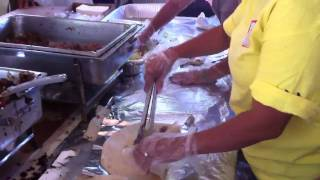 Behind The Scenes At The Okinawan Festival Oki Dog Booth