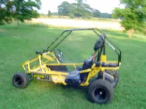 Manco 606 Scorpion Go Kart Review Vid on