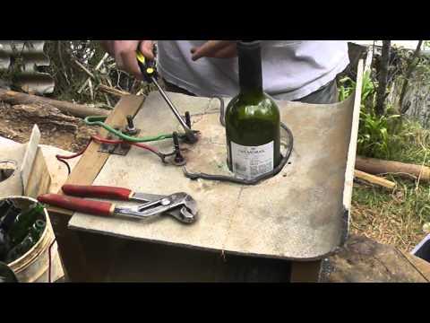 Maquina corta botellas youtube - Como cortar botellas de vidrio ...