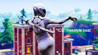 "Fortnite Montage ""ICE"" Freestyle Rap Beat Instrumental 